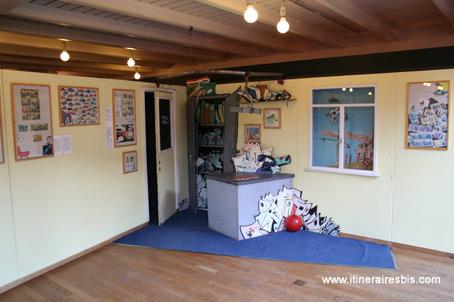 photo bureau de gaston lagaffe musee de la bd bruxelles. Black Bedroom Furniture Sets. Home Design Ideas