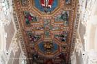 Visite de Recanati plafond de la cathédrale