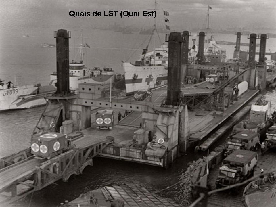 Quai est du port artificiel d 39 arromanches - Port artificiel d arromanches construction ...